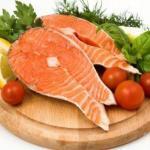 Somon balığı dilim resmi