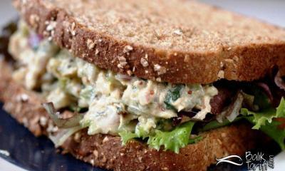 Ton Balıklı Hardallı Sandviç