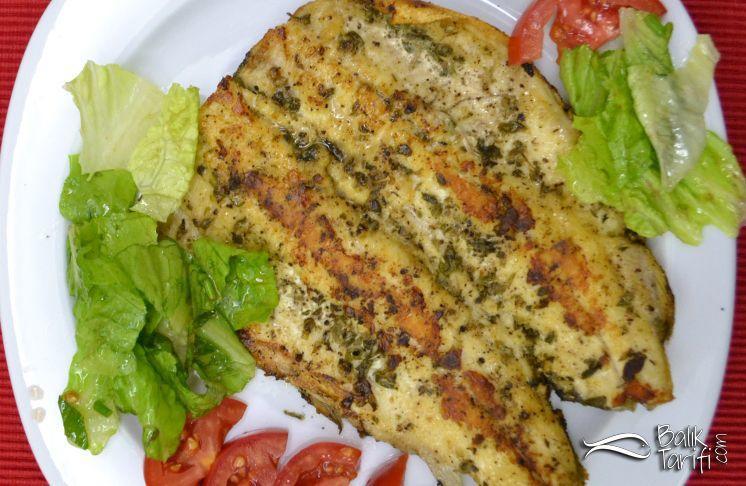 tavada baharatlı alabalık fileto tarifi