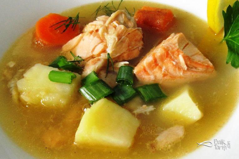 Şifalı Somon Balığı Çorbası Tarifi