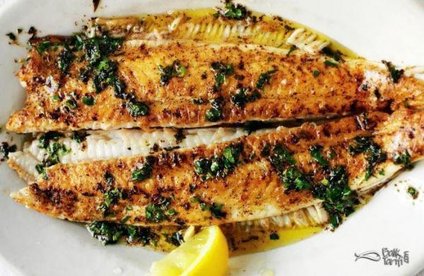 Tavada teryağı soslu dil balığı tarifi