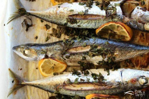 Yağlı kağıtta uskumru balığı tarifi