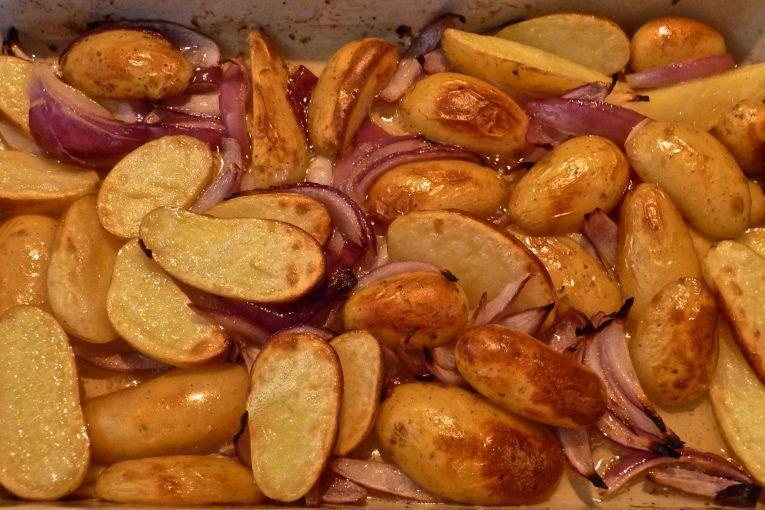 fırında patatesli somon fileto tarifi