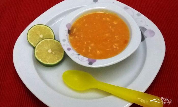 Çocuklar İçin Balıklı Tarhana Çorbası