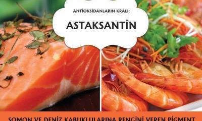 Astaksantin: Güçlü Bir Antioksidan